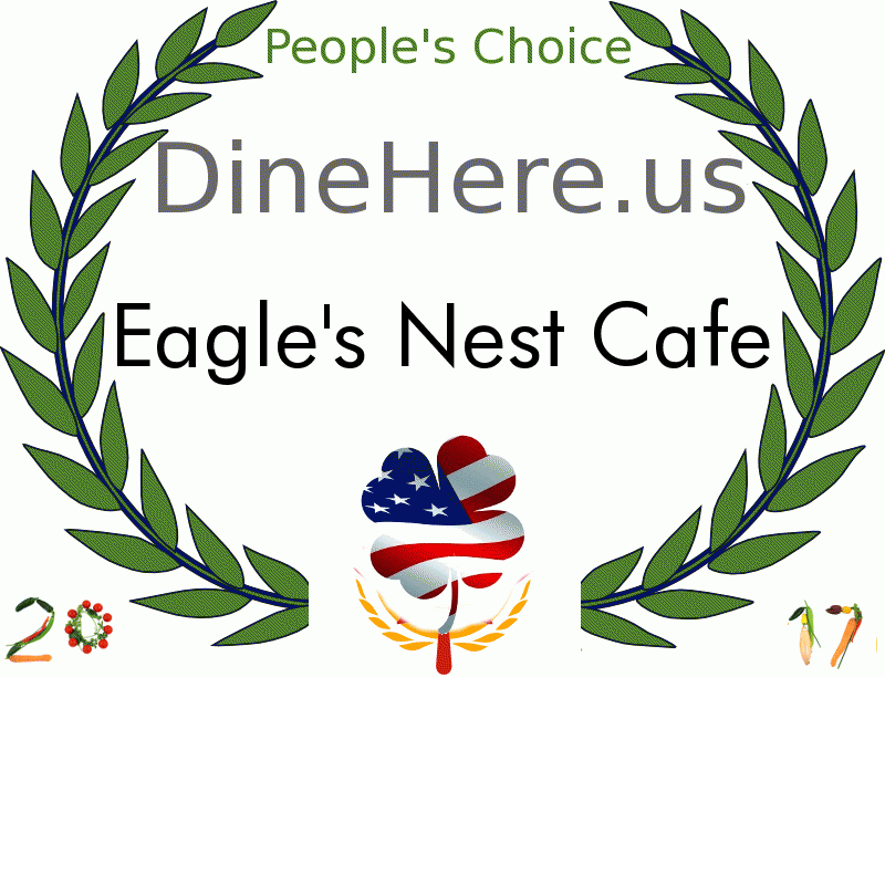 Eagle's Nest Cafe DineHere.us 2017 Award Winner